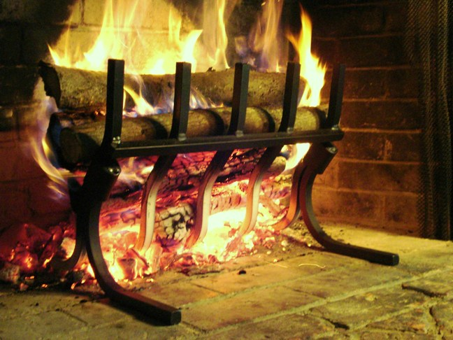 How to make a fireplace more efficient Gratewalloffirecom