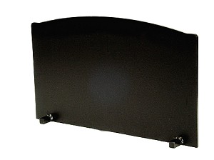 "1"" SDHM-6 Super Duty Heat Master Fireback 26"" Wide"